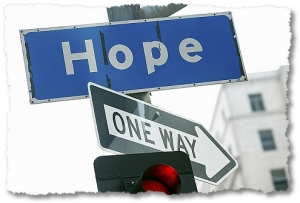 One way to hope? Interesting.